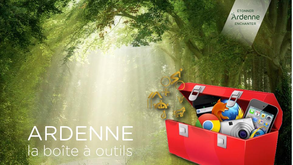 La boîte à outil de l'Ardenne